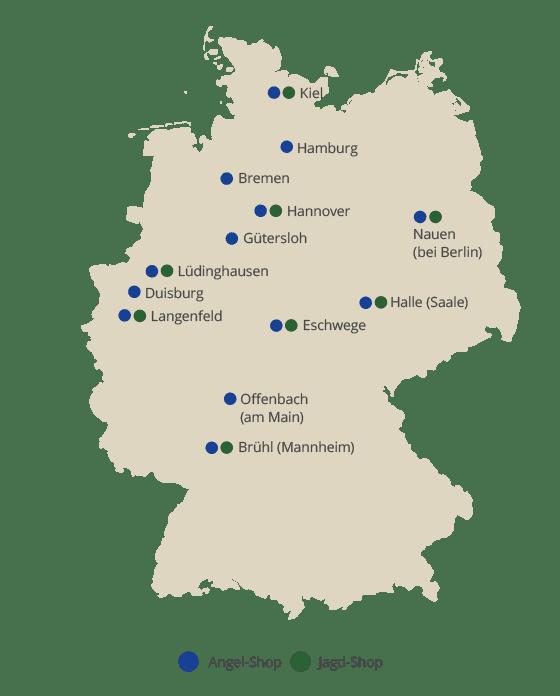 Übersicht aller Askari Märkte in Deutschland